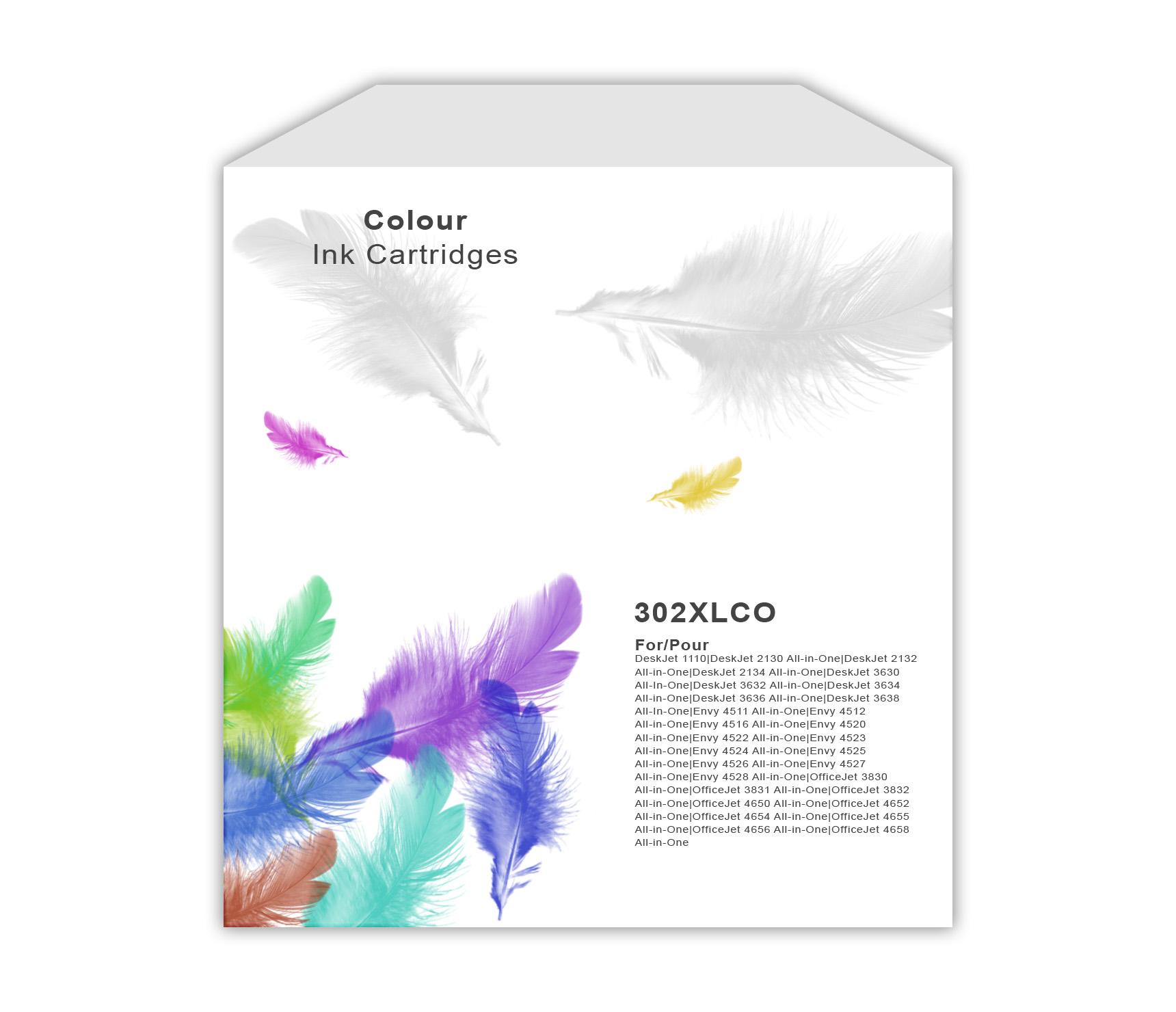 HP 302XL Colour Ink Cartridge
