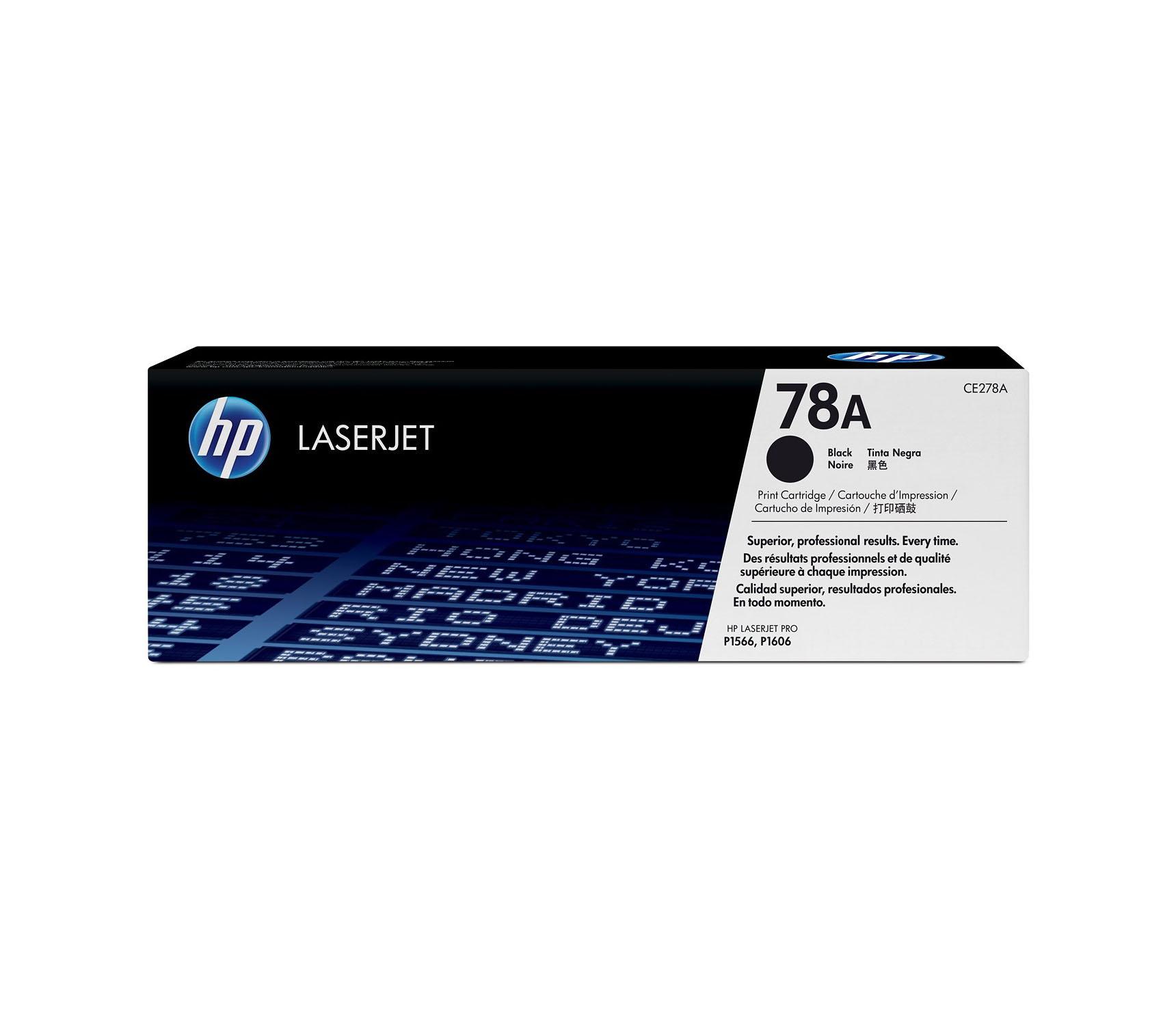 HP CE278A Original Black Toner Cartridge