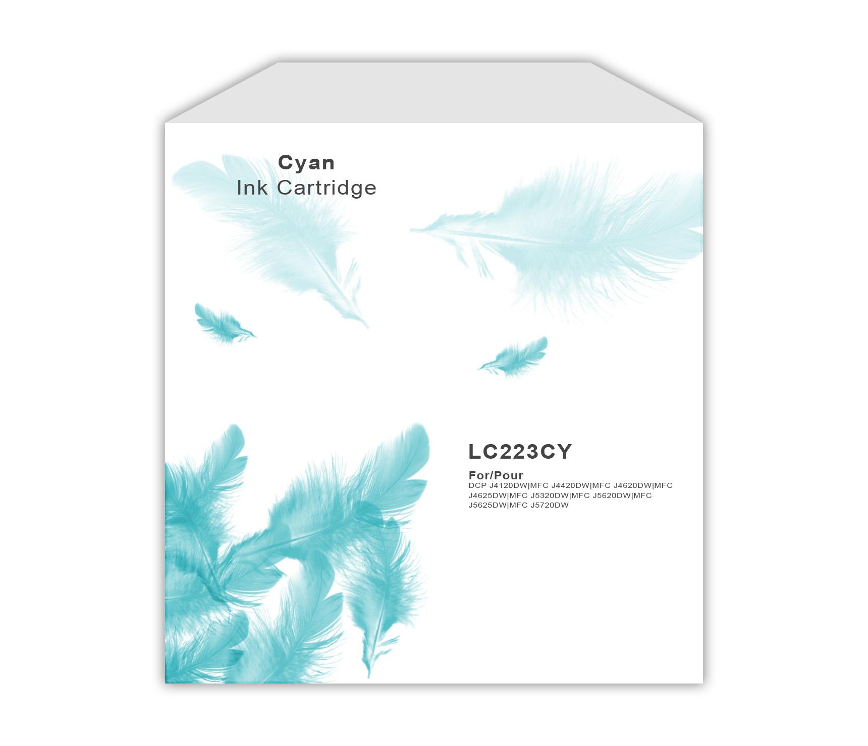 Brother LC223 Cyan Ink Cartridge