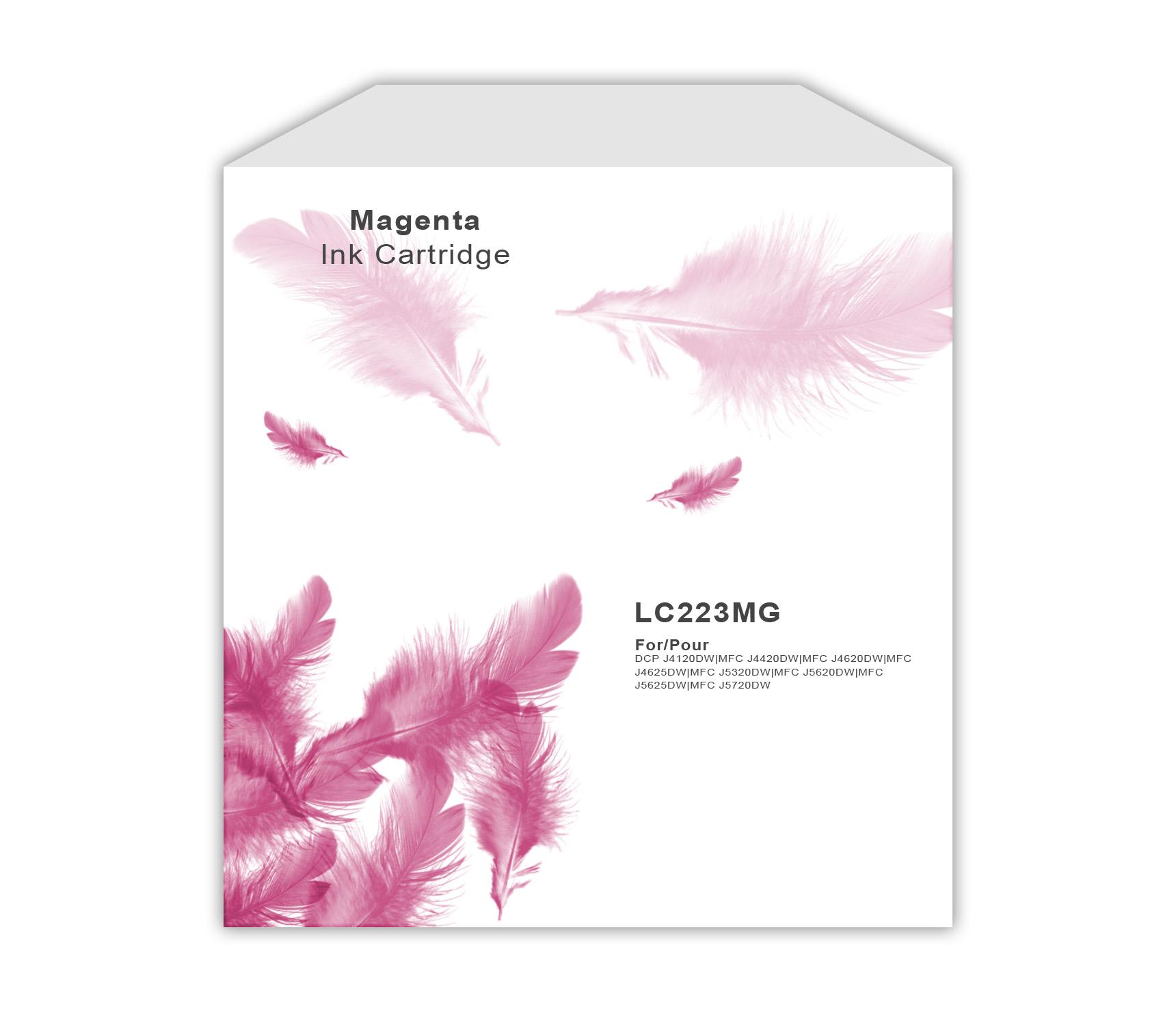 Brother LC223 Magenta Ink Cartridge