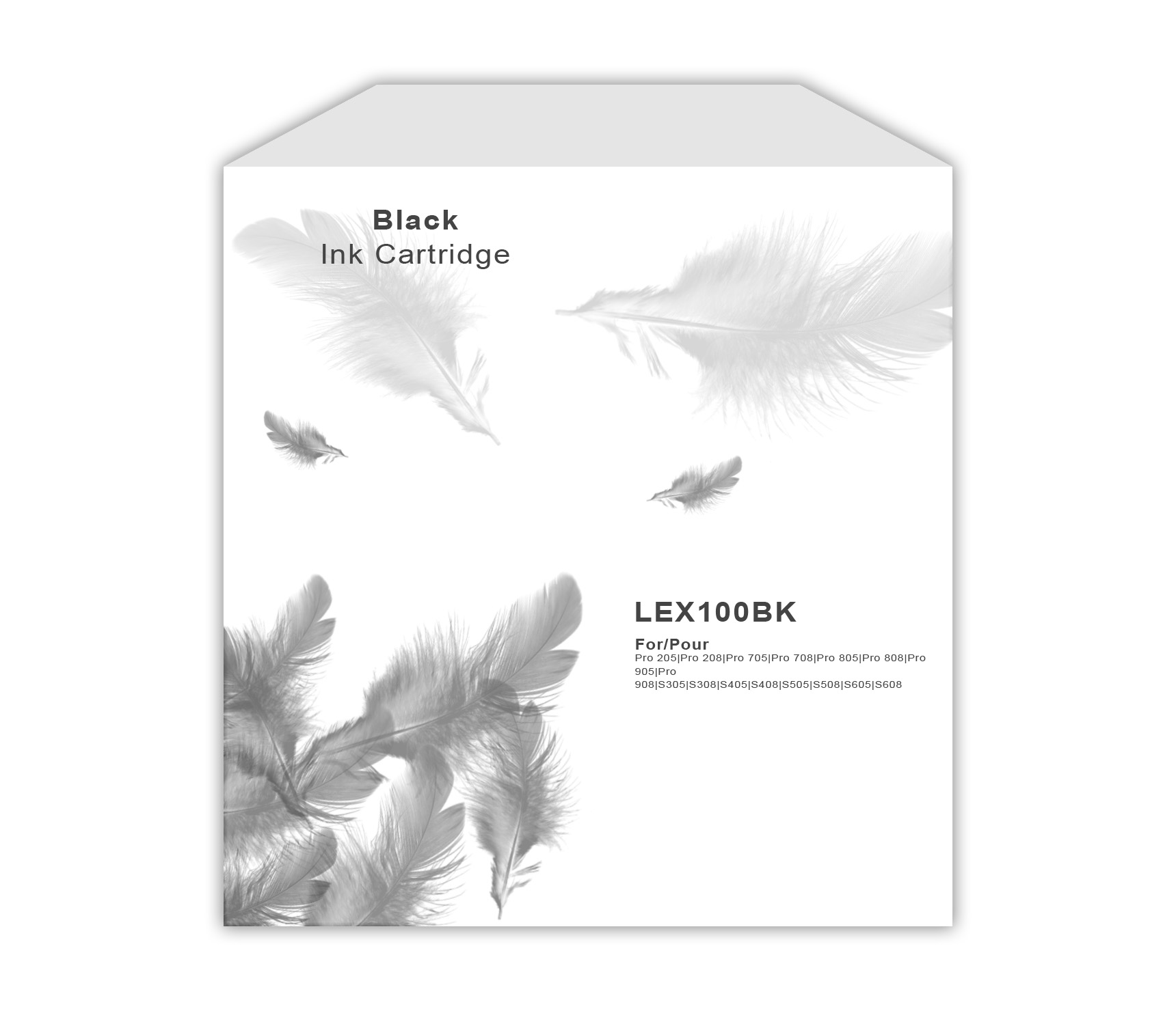 Lexmark 100 Black Ink Cartridge