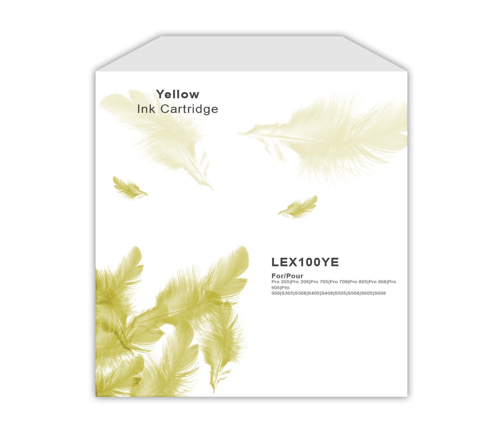 Lexmark 100 Yellow Ink Cartridge
