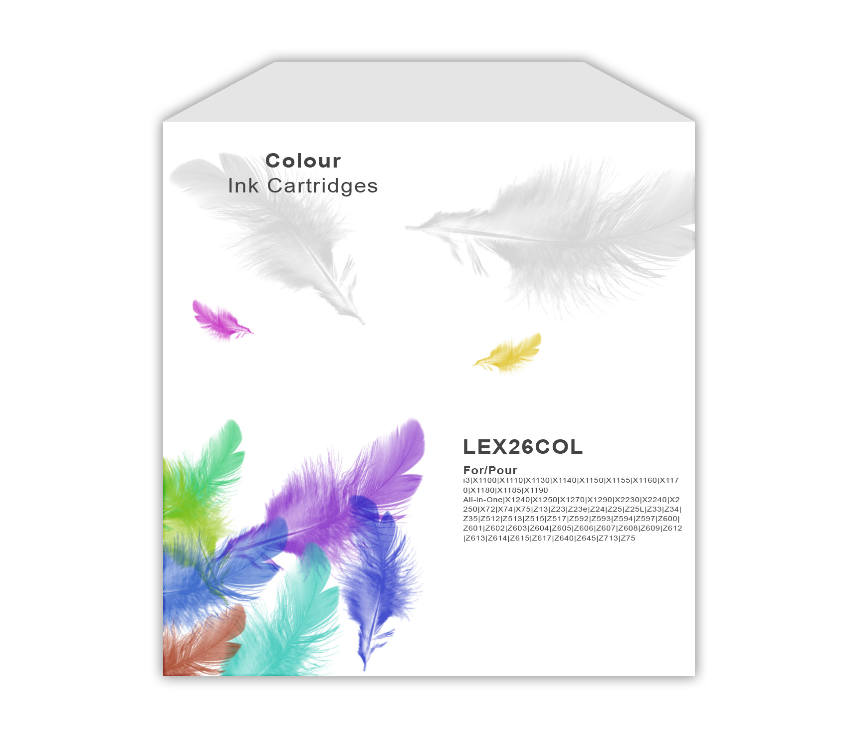 Lexmark No.26 Colour Ink Cartridge