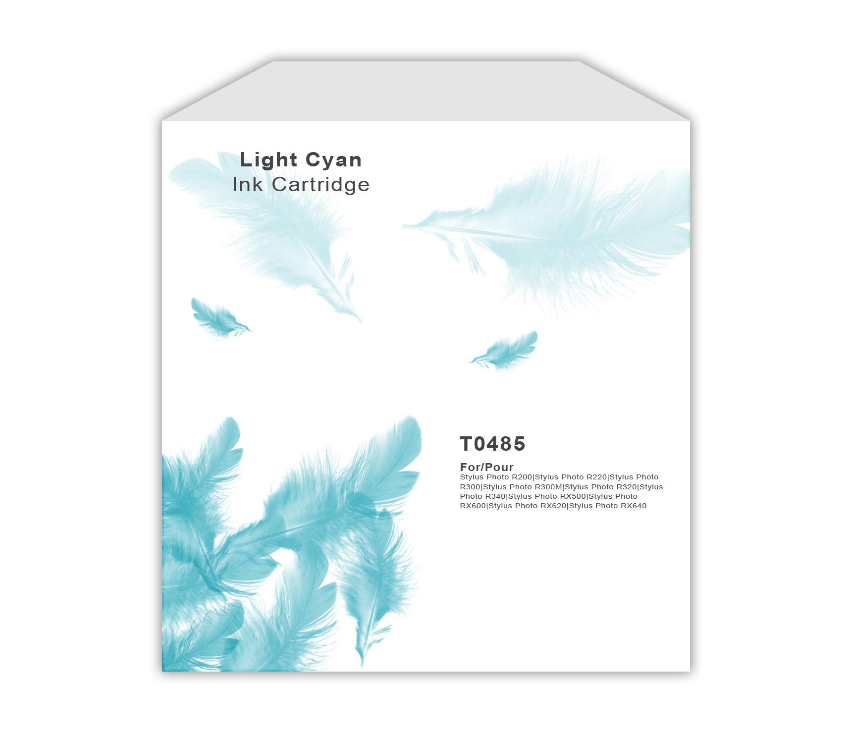 Epson TO485 Light Cyan Ink Cartridge