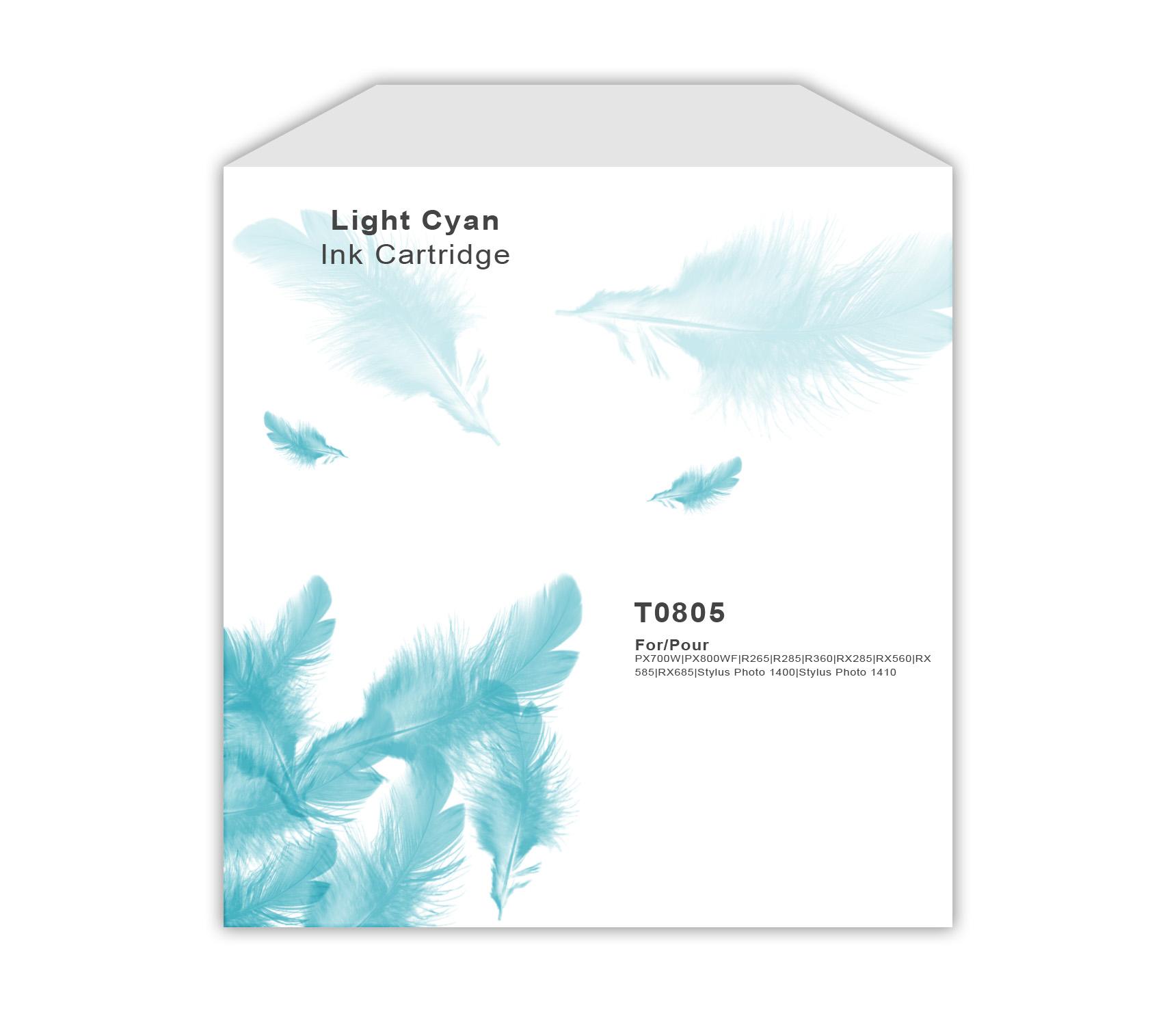 Epson TO805 Light Cyan Ink Cartrtidge