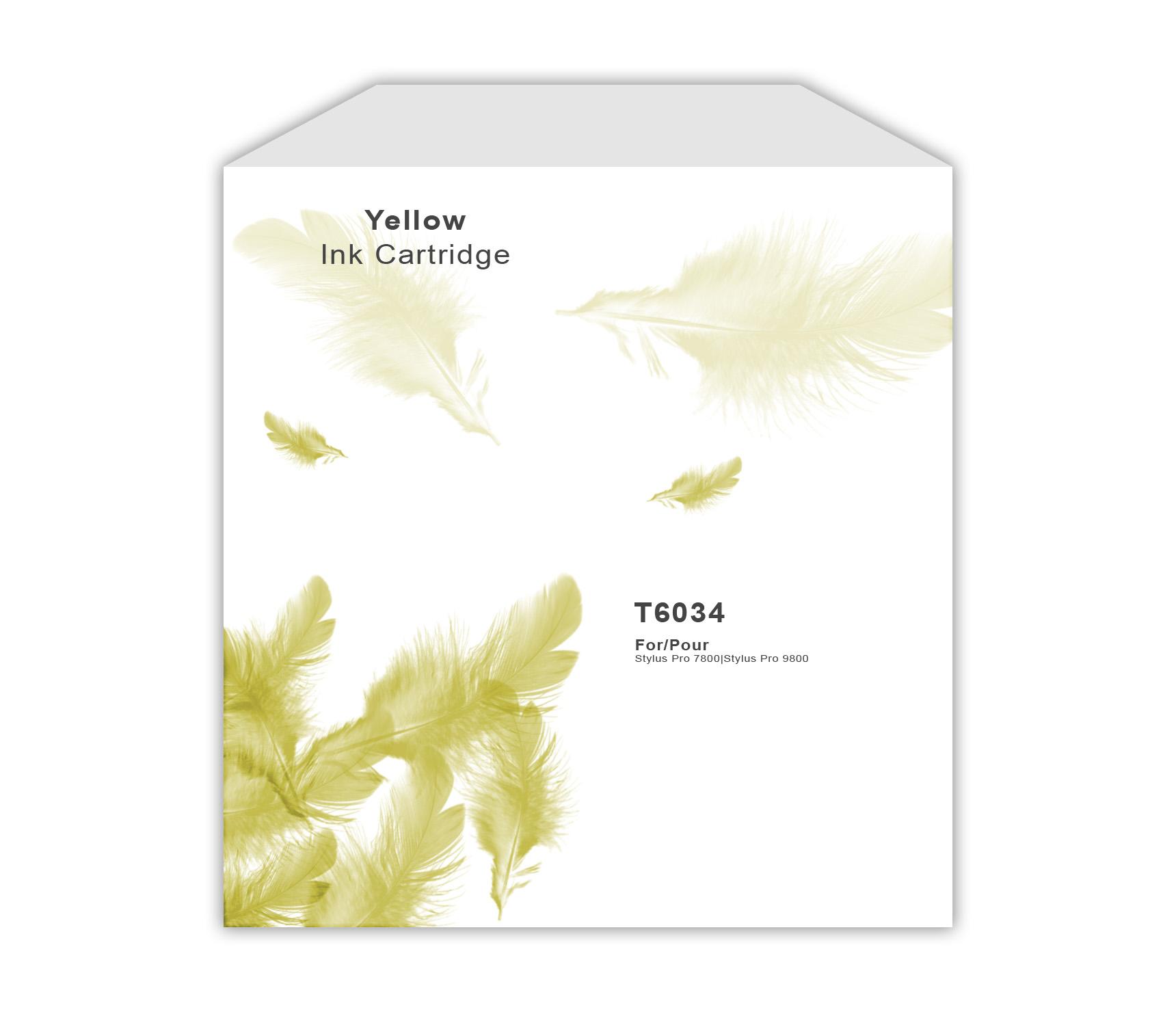 Epson T5634/T6034 Yellow Ink Cartridge